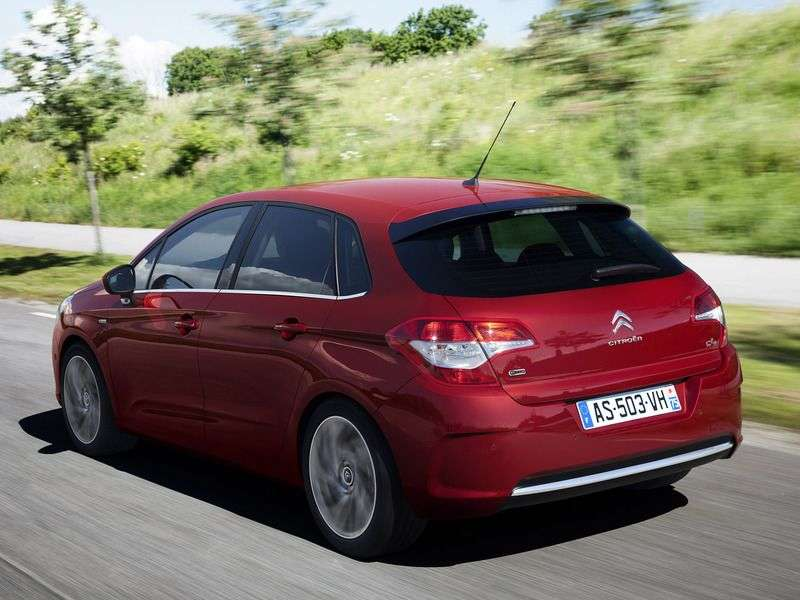 Citroen C4 2nd generation hatchback 1.6 VTi MT Tendance (Kaluga assembly) (2012) (2011 – n.)