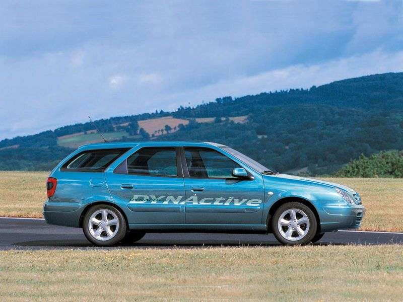 Citroen Xsara 2nd generation Break 1.4 MT wagon (1997–2004)