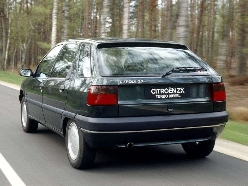 Citroen ZX 1 generation hatchback 5 bit. 1.9 MT (1991–1997)