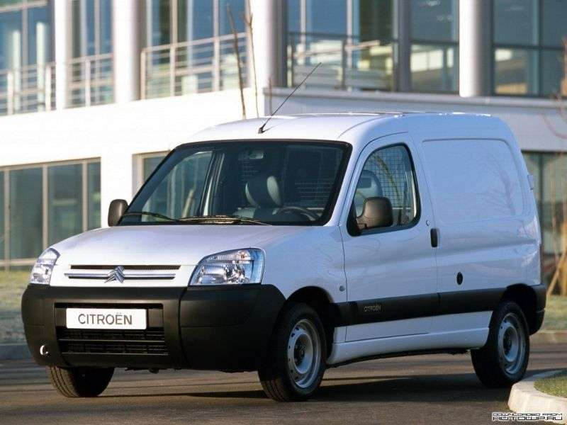 Citroen Berlingo 1st generation [restyling] First van 1.6HDi MT Long Basic (2002–2012)