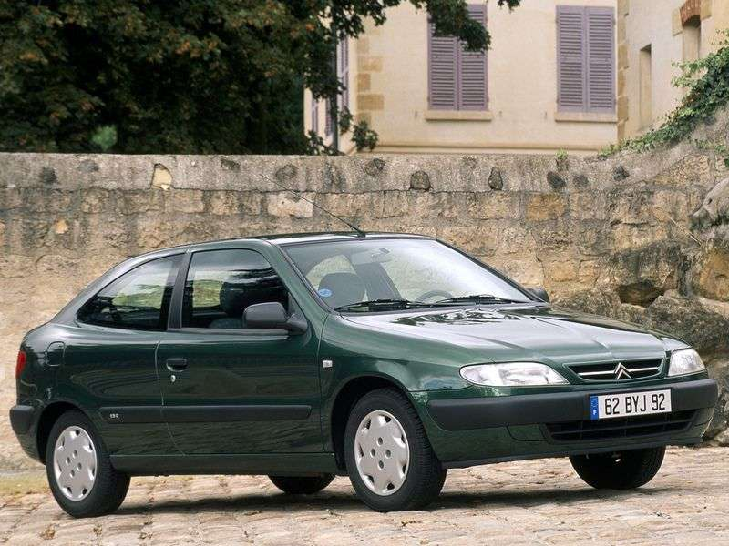 Citroen Xsara 1st generation coupe 1.4 MT (1997–2000)