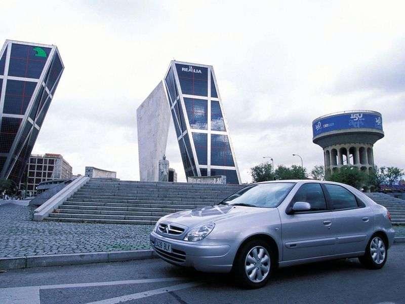 Citroen Xsara 2nd generation hatchback 2.0 HDI MT (2001–2004)