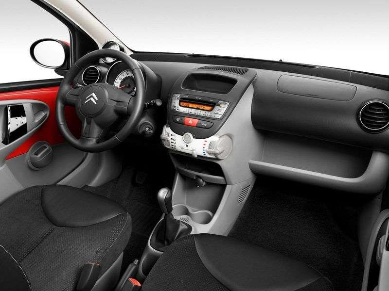 Citroen C1 1st generation [restyled] 5 dv hatchback 1.4 HDi MT Tendance (2008–2012)