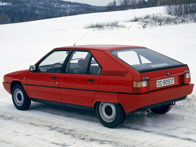 Citroen BX 1st generation hatchback 1.9 MT 4X4 (1986–1992)