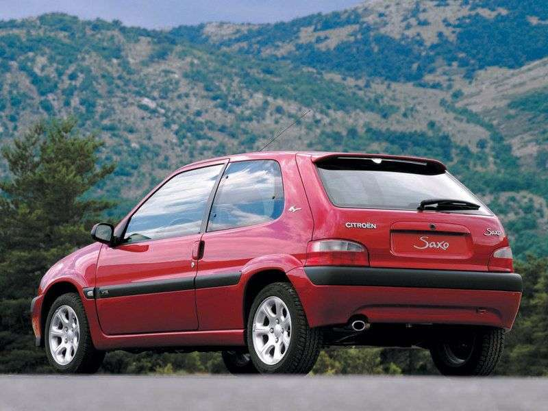 Citroen Saxo 2 generation hatchback 3 dv. 1.1 MT (1996–2004)
