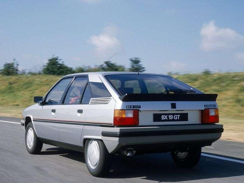 Citroen BX 1st generation GT hatchback 1.9 GTi MT (1988–1993)