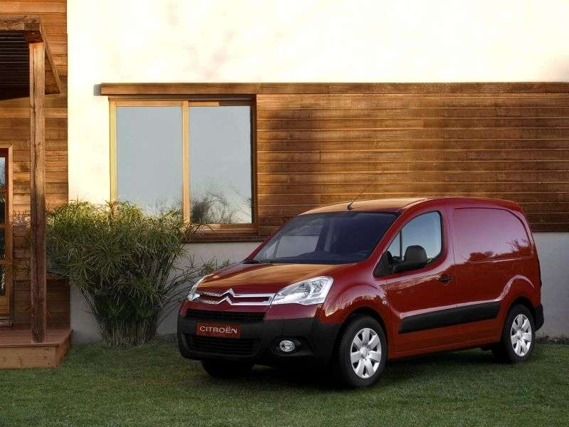 Citroen Berlingo 2nd generation van 1.6 MT Basic (2008–2011)
