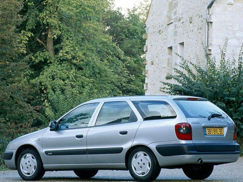 Citroen Xsara 1st generation Break wagon 1.9 D MT (1997–2000)