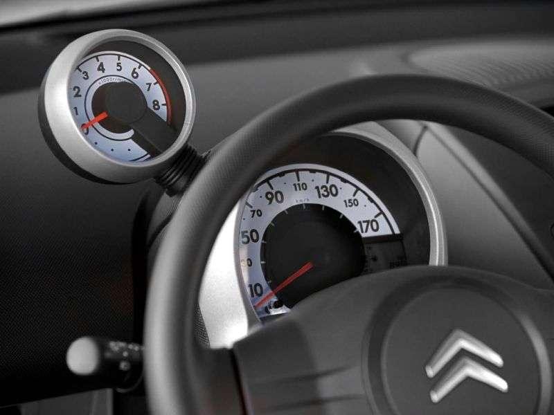 Citroen C1 1st generation [restyling] 3 bit hatchback 1.0 AMT Tendance (2008–2012)