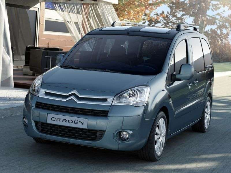 Citroen Berlingo 2nd generation minivan 1.6 MT Multispace (2008–2012)