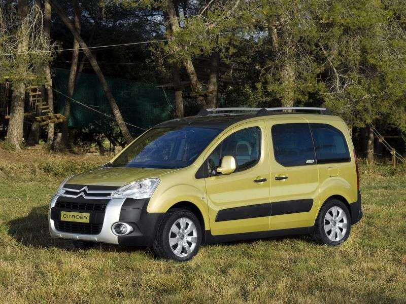 Citroen Berlingo 2nd generation 1.6 MT X TR minivan (2008–2012)