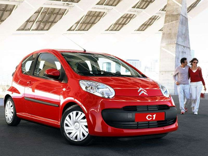 Citroen C1 1st generation hatchback 3 bit. 1.4 HDi MT (2005–2008)