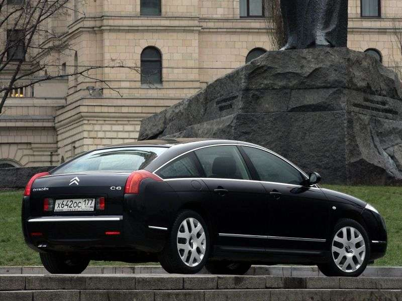 Citroen C6 1st generation fastback 3.0 AT (2005–2011)
