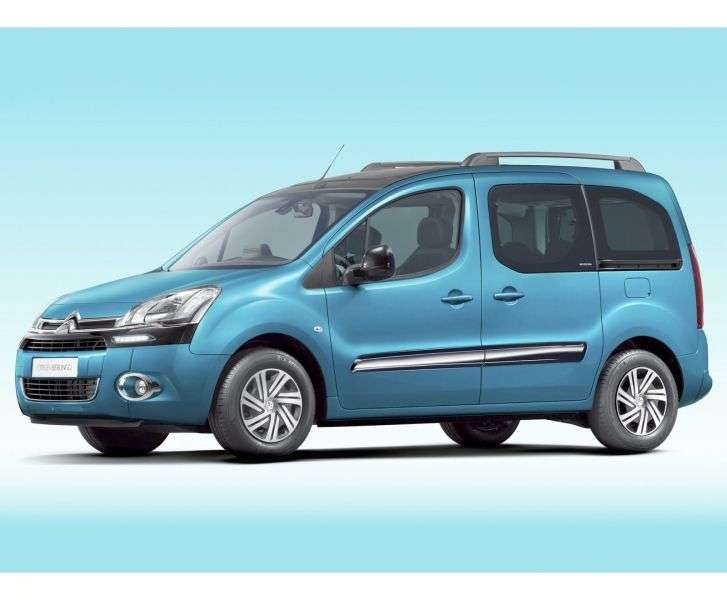 Citroen Berlingo 2nd generation [restyling] 4 door minivan 1.6 MT Black Pack (2012 – n. In.)