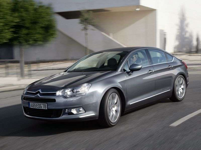 Citroen C5 2nd generation 3.0 sedan Hdi AT Exclusive (2013) (2008–2013)