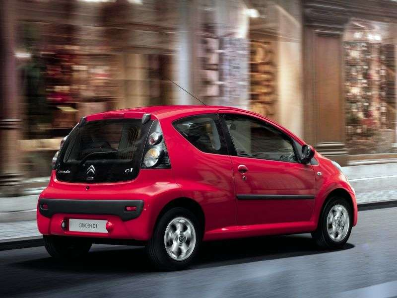 Citroen C1 1st generation [2nd restyling] 3 bit hatchback 1.0 AMT Tendance (2012 – present)