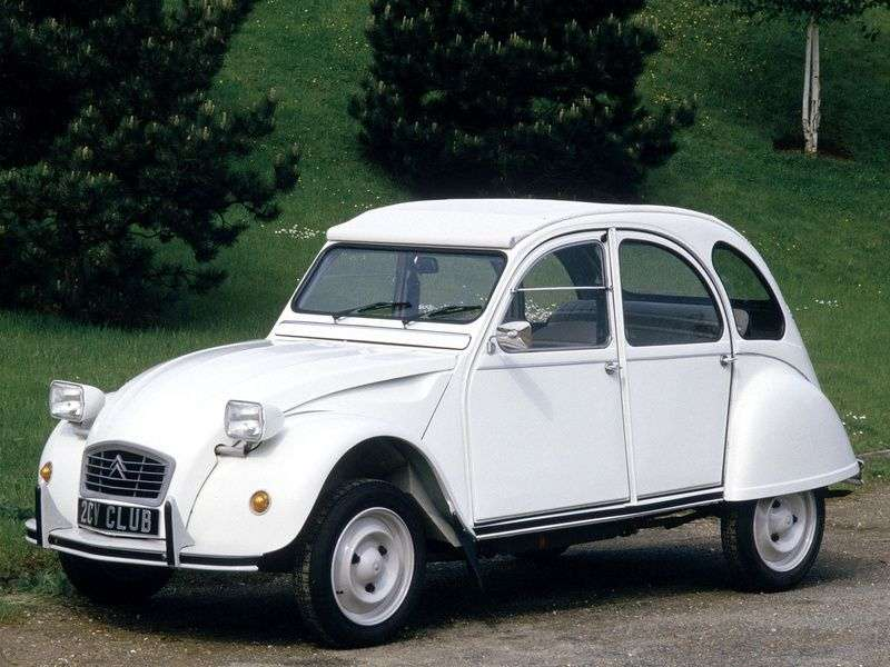 Citroen 2 CV 5 generation convertible 0.6 MT (1979–1980)