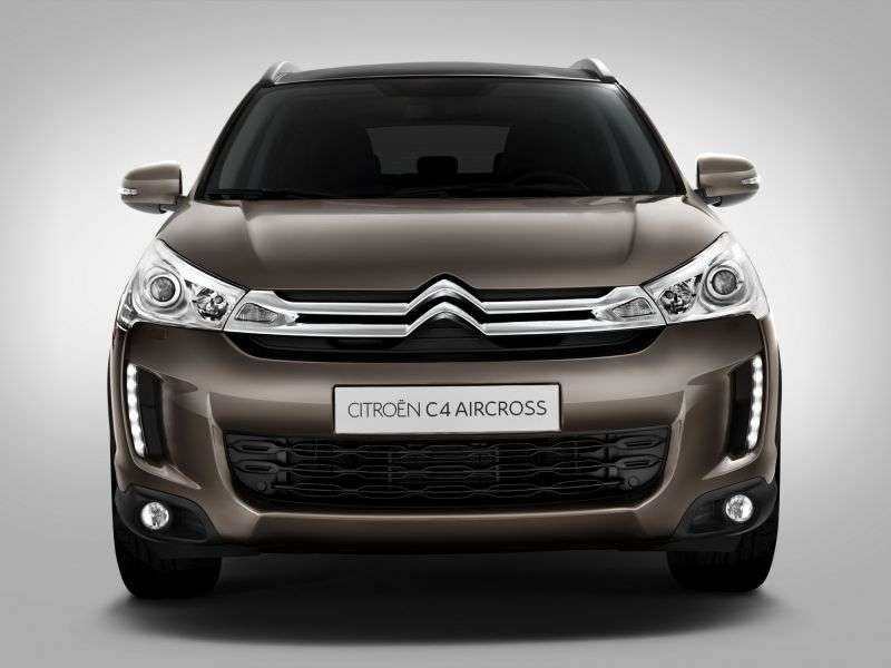 Citroen C4 AirCross 1st generation crossover 1.8 HDi MT AWD (2012 – n.)