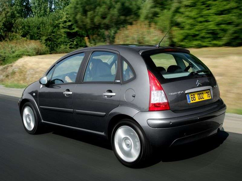 Citroen C3 1st generation 1.6 MT hatchback (2002–2009)