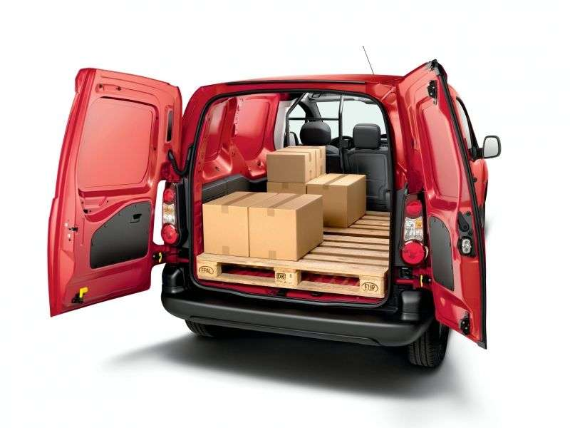 Citroen Berlingo 2nd generation [restyling] 1.6 MT Hdi L Basic (2012 – n.) Van