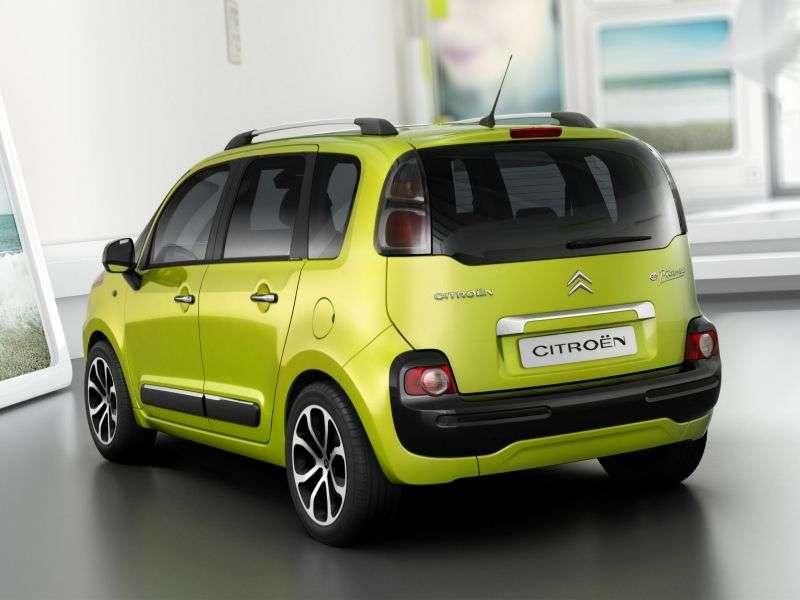 Citroen C3 Picasso 1st generation minivan 1.6 MT Exclusive (2008–2011)