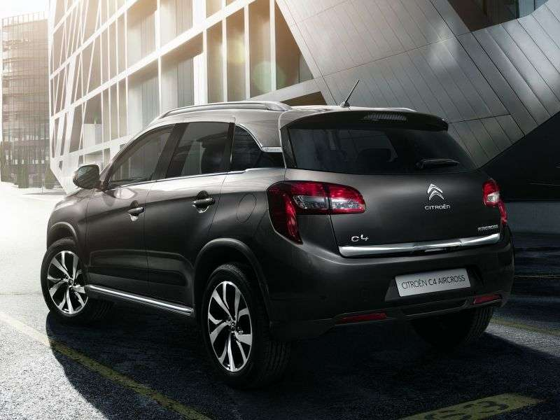 Citroen C4 AirCross 1st generation crossover 2.0 CVT AWD Tendance (2012 – n.)