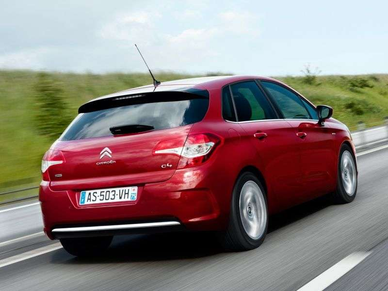 Citroen C4 2nd generation hatchback 1.6 eHDi AMT Exclusive (French assembly) (2012) (2011 – n.)