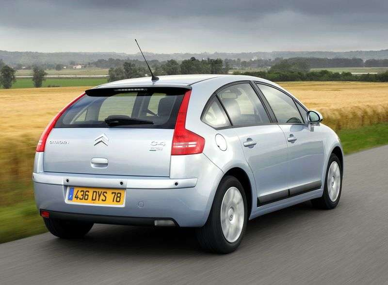 Citroen C4 1st generation 5 bit hatchback 1.6 AT Exclusive (2004–2010)