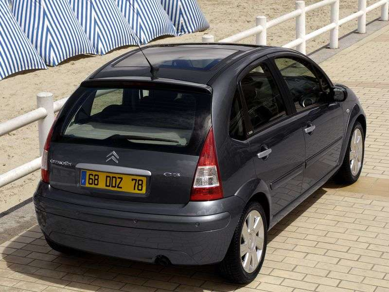 Citroen C3 1st generation 1.4 AT hatchback (2003–2009)