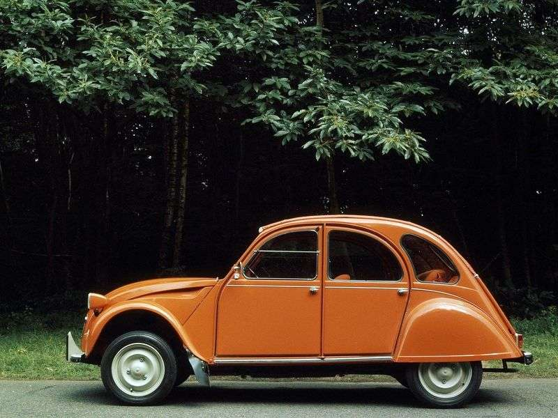 Citroen 2 CV 4 generation convertible 0.4 MT (1975–1979)