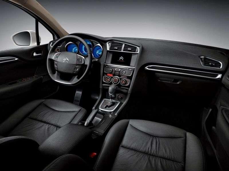 Citroen C4 2nd generation 4 door sedan. 1.6 VTi AT Exclusive (2013 – present)