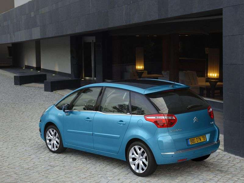 Citroen C4 Picasso 1st generation 5 door minivan 1.6 MT eMyWay Dynamique (2012) (2006–2013)