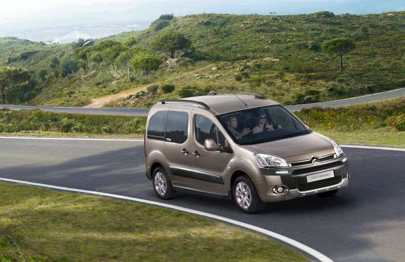 Citroen Berlingo 2nd generation [restyling] 4 door minivan 1.6 MT VTi AWD X TR (2012 – present)