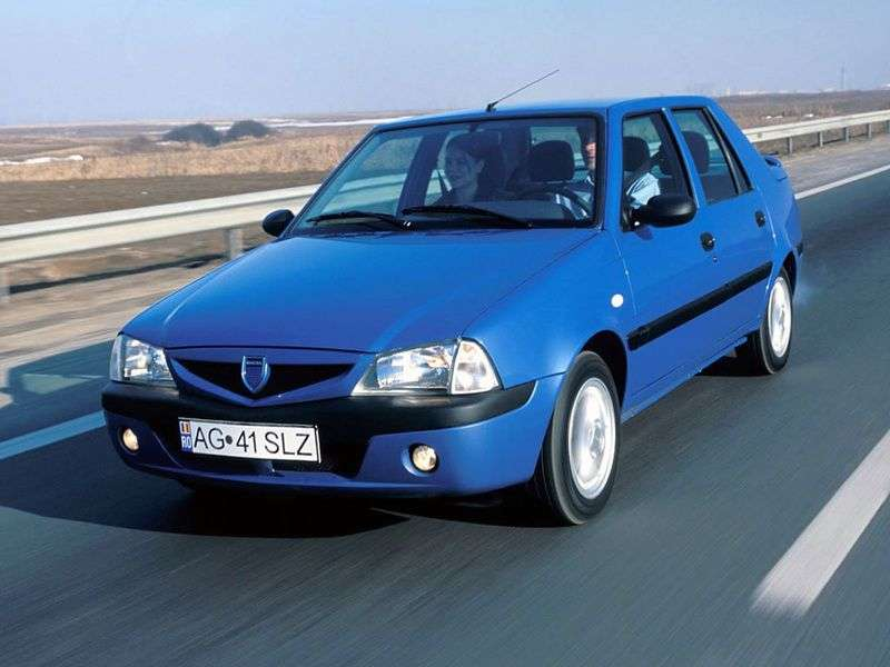 Dacia Solenza 1st generation 1.9 D MT sedan (2003–2005)