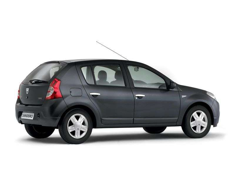 Dacia Sandero 1st generation hatchback 1.6 MPI MT (2008 – n.)