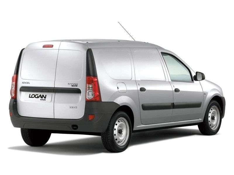 Dacia Logan 1st generation VAN van 1.4 MT (2006–2008)