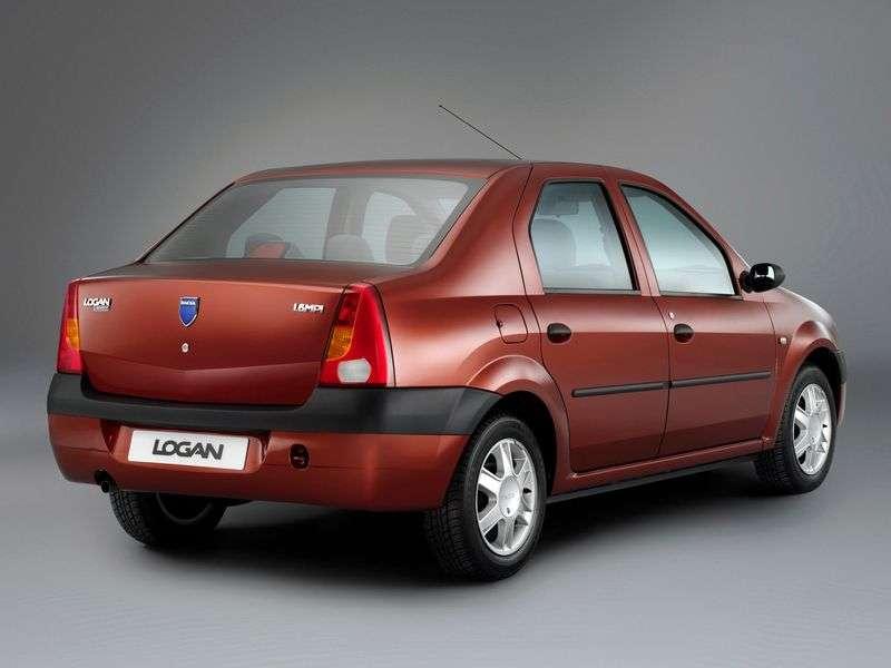 Dacia Logan 1st generation 1.4 MT sedan (2004–2008)