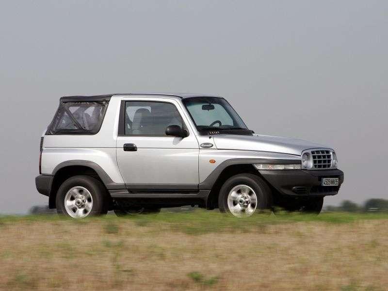 Daewoo Korando KJ 2.3 MT AWD Compact (1999–2001)