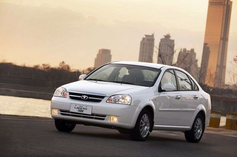 Daewoo Lacetti 1st generation 1.6 MT sedan (2003–2004)