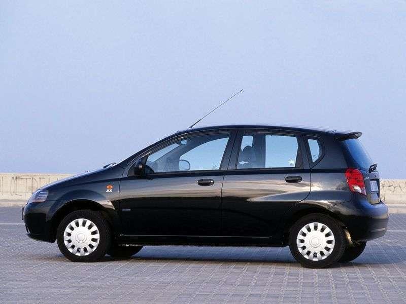 Daewoo Kalos 1st generation 1.4 MT hatchback (2003 – n.)