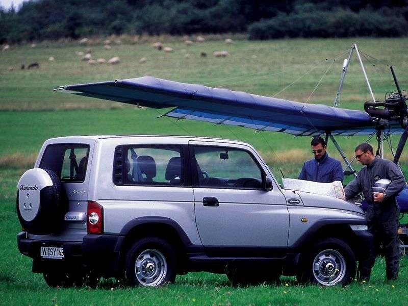 Daewoo Korando KJ SUV 2.9 TD MT (1999–2001)