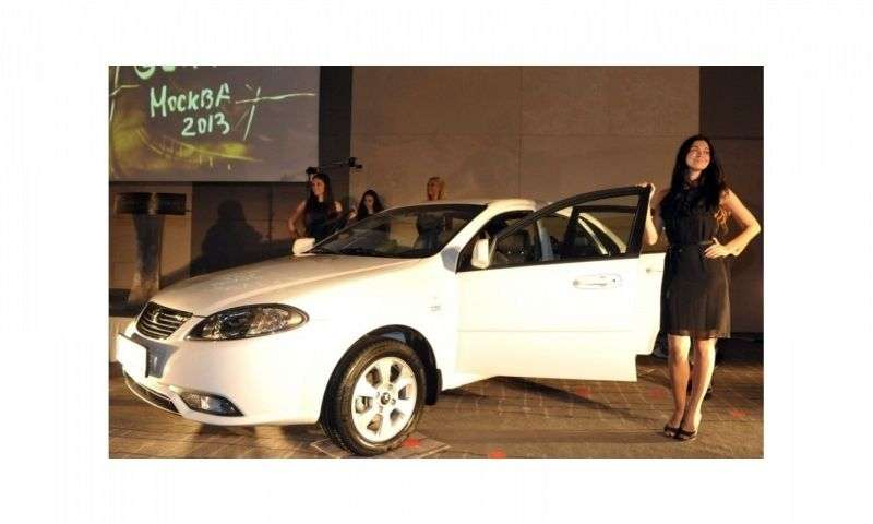 Daewoo Gentra 2nd generation sedan 1.5 DOCH AT Optimum Plus (2013 – n.)