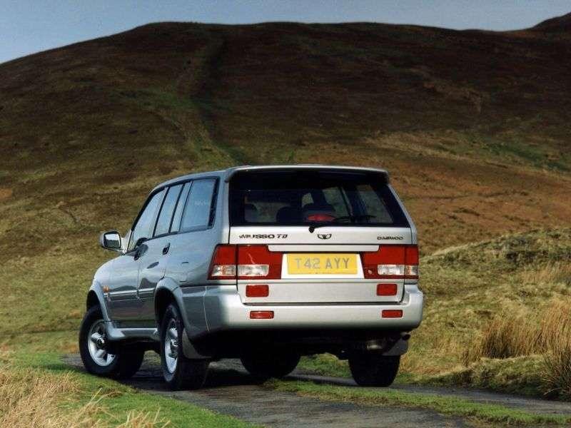 Daewoo Musso FJ SUV 2.0 MT (1999–2001)