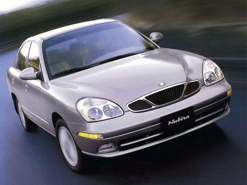 Daewoo Nubira 2nd generation sedan 1.8 MT (2001–2003)
