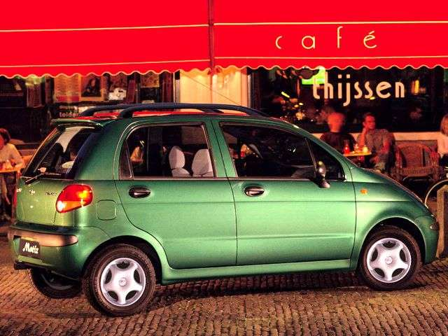 Daewoo Matiz 1st generation hatchback 0.8 MT STD (1998–2001)