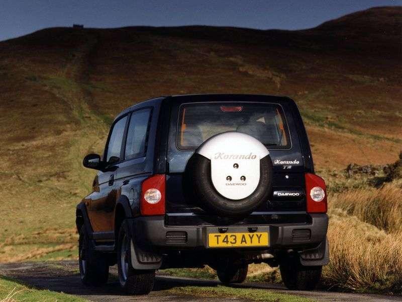 Daewoo Korando KJ SUV 2.9 D AT AWD (1999–2001)