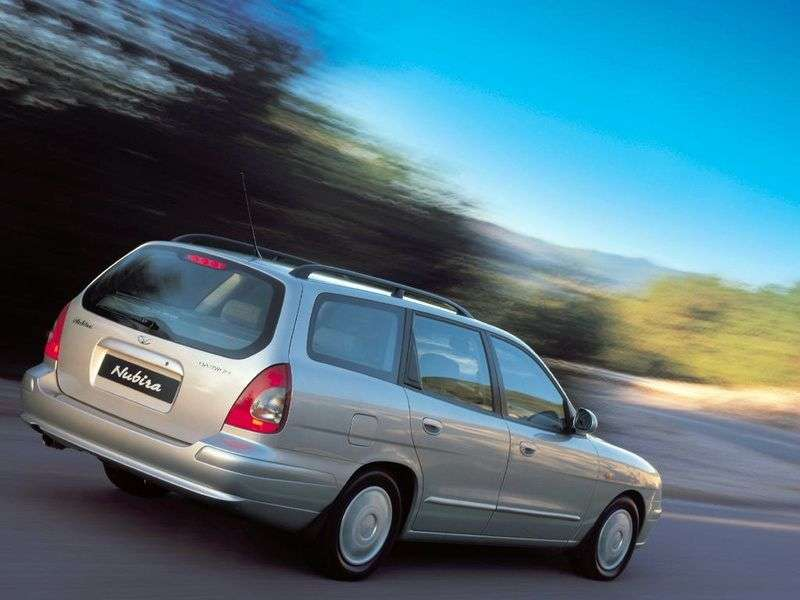 Daewoo Nubira 2nd generation wagon 2.0 CDX MT (2002–2004)