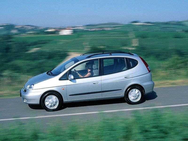 Daewoo Tacuma 1st generation 1.8 MT minivan (2000–2008)