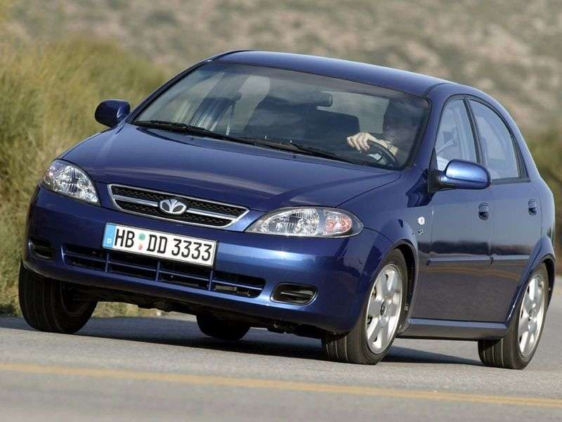 Daewoo Lacetti 1st generation hatchback 1.6 AT (2003 – n.)