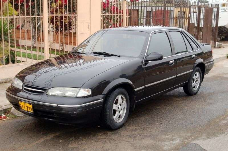 Daewoo Prince 1st generation [restyled] 1.8 MT sedan (1996–1999)